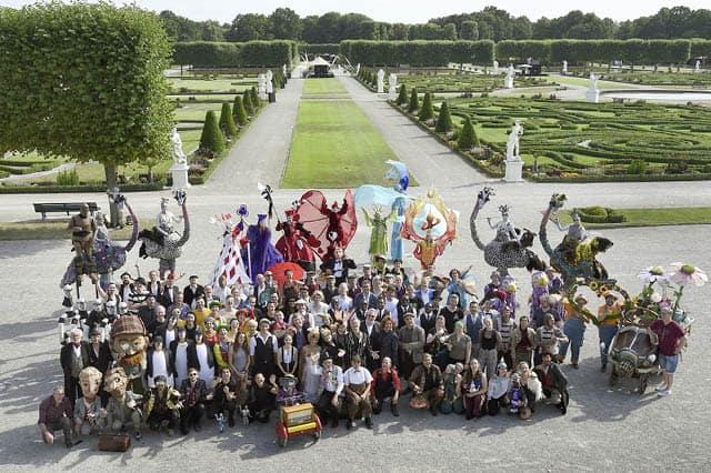 Gruppenfoto Kleines Fest im Großen Garten