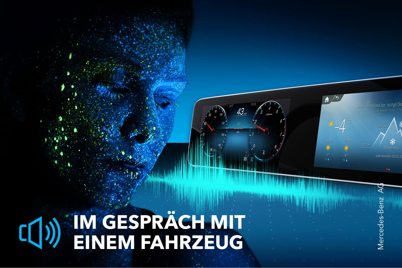"""Featured image for """"Hey, Mercedes – Digitalisierung im Fahrzeug"""""""