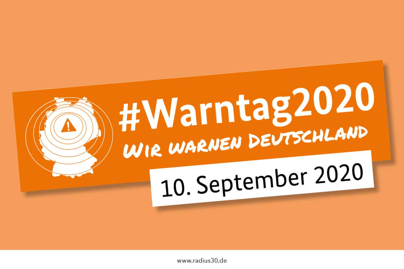 """Featured image for """"Bundesweiter Warntag 2020 am 10. September"""""""