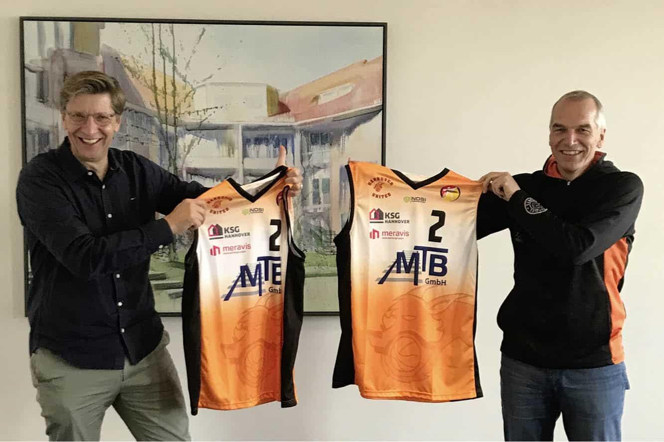 """Featured image for """"meravis wird Gold-Partner von Hannover United"""""""