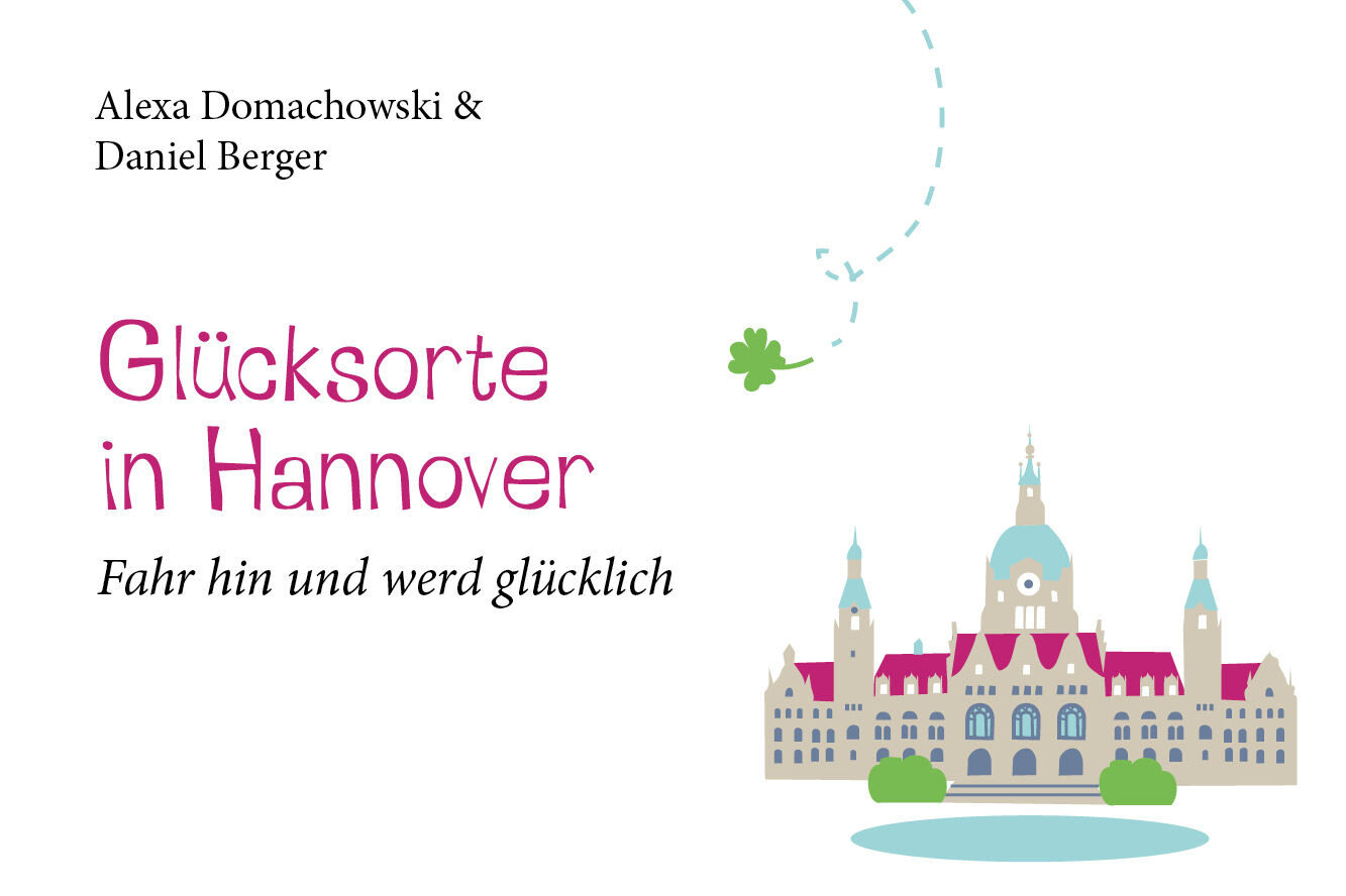 """Featured image for """"Verlosung: Buch """"Glücksorte in Hannover"""""""""""