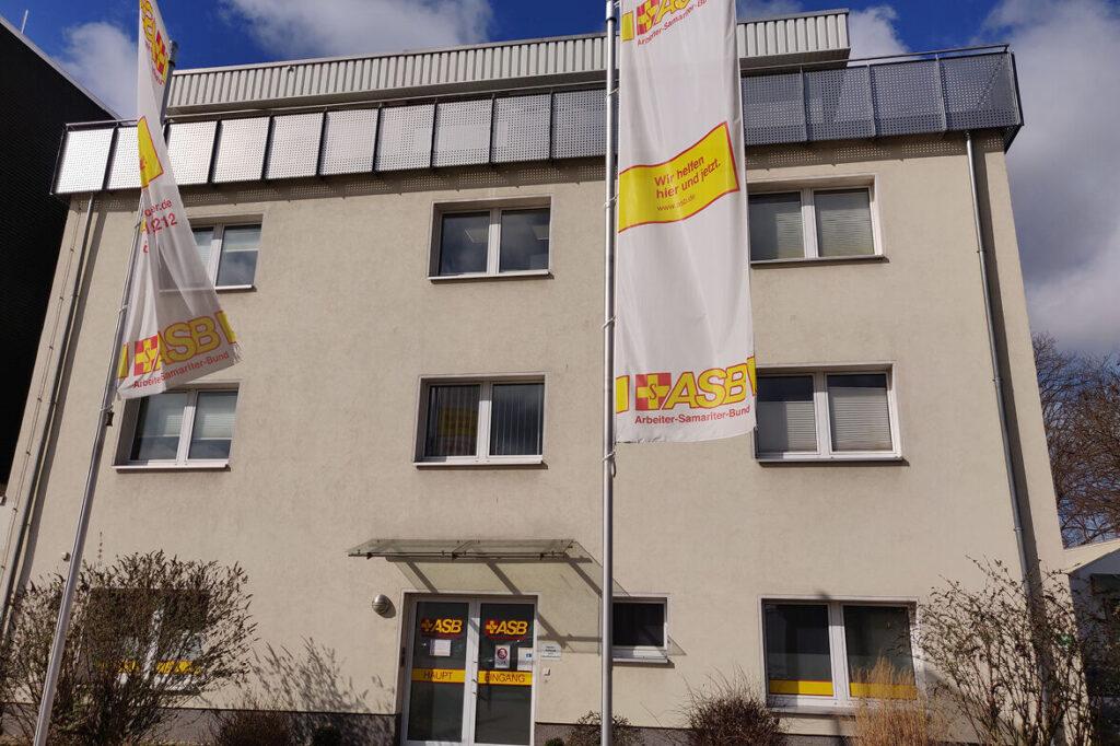 Das Gebäude des Arbeiter-Samariter-Bunds, in dem die Kurse zur Arbeit im Kinderhospiz stattfinden.