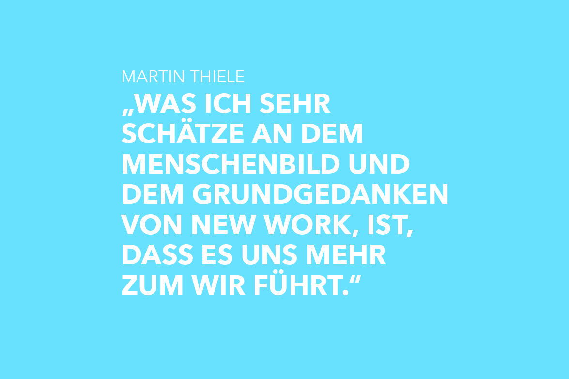 """Featured image for """"Martin Thiele: New Work führt uns mehr zum Wir"""""""